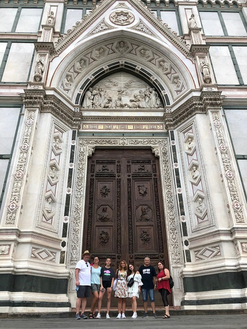 סיור בפירנצה בעברית עם משפחות